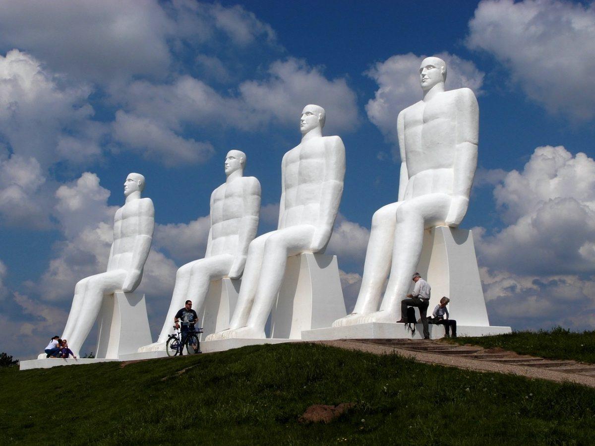 White men of Esbjerg