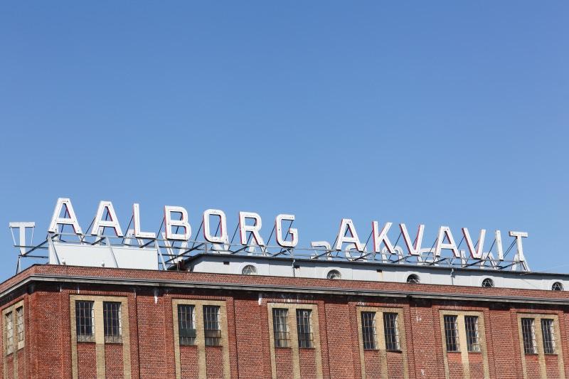 A Danish aquavit factory in Aalborg