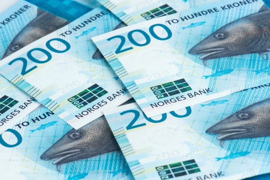 Norwegian paper money