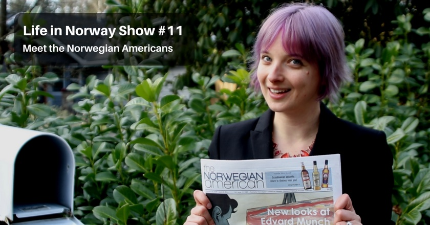 Podcast: Meet the Norwegian Americans with this interview with their newspaper editor.