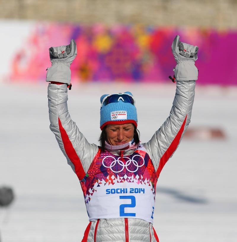 Marit Bjørgen in Sochi