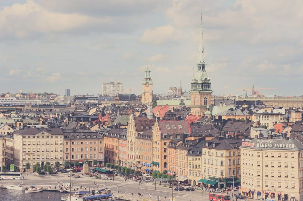 Cityscape of Stockholm