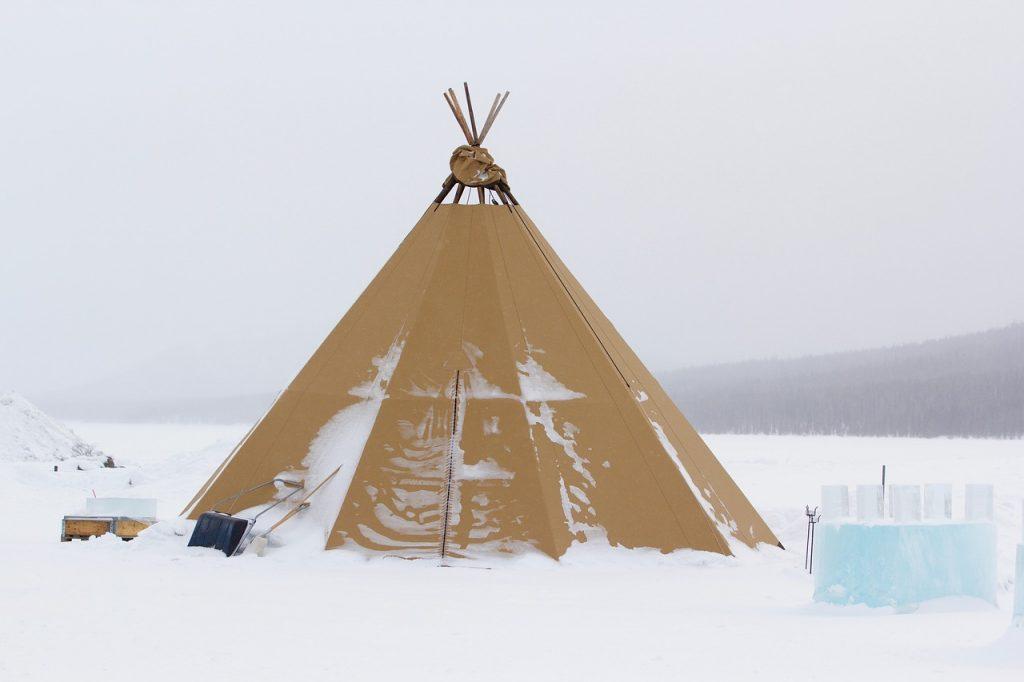 Kiruna in the winter