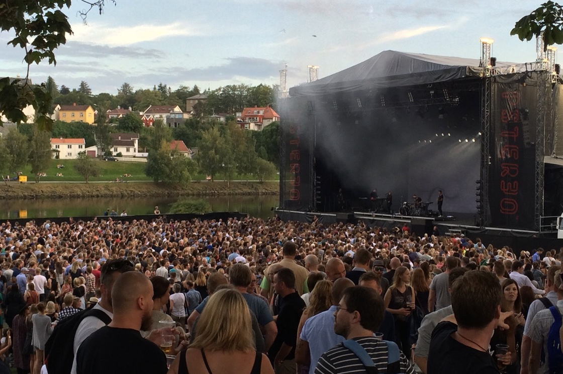 Music festival in Norway