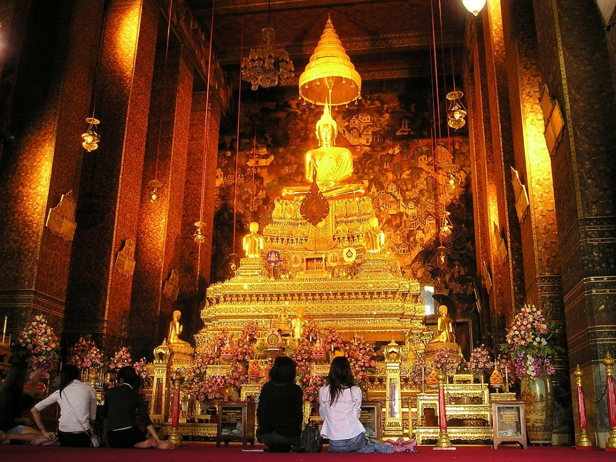 Bangkok shrine