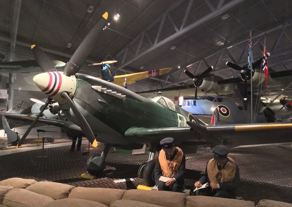 Much WWII history is covered at Bodø Aviation Museum