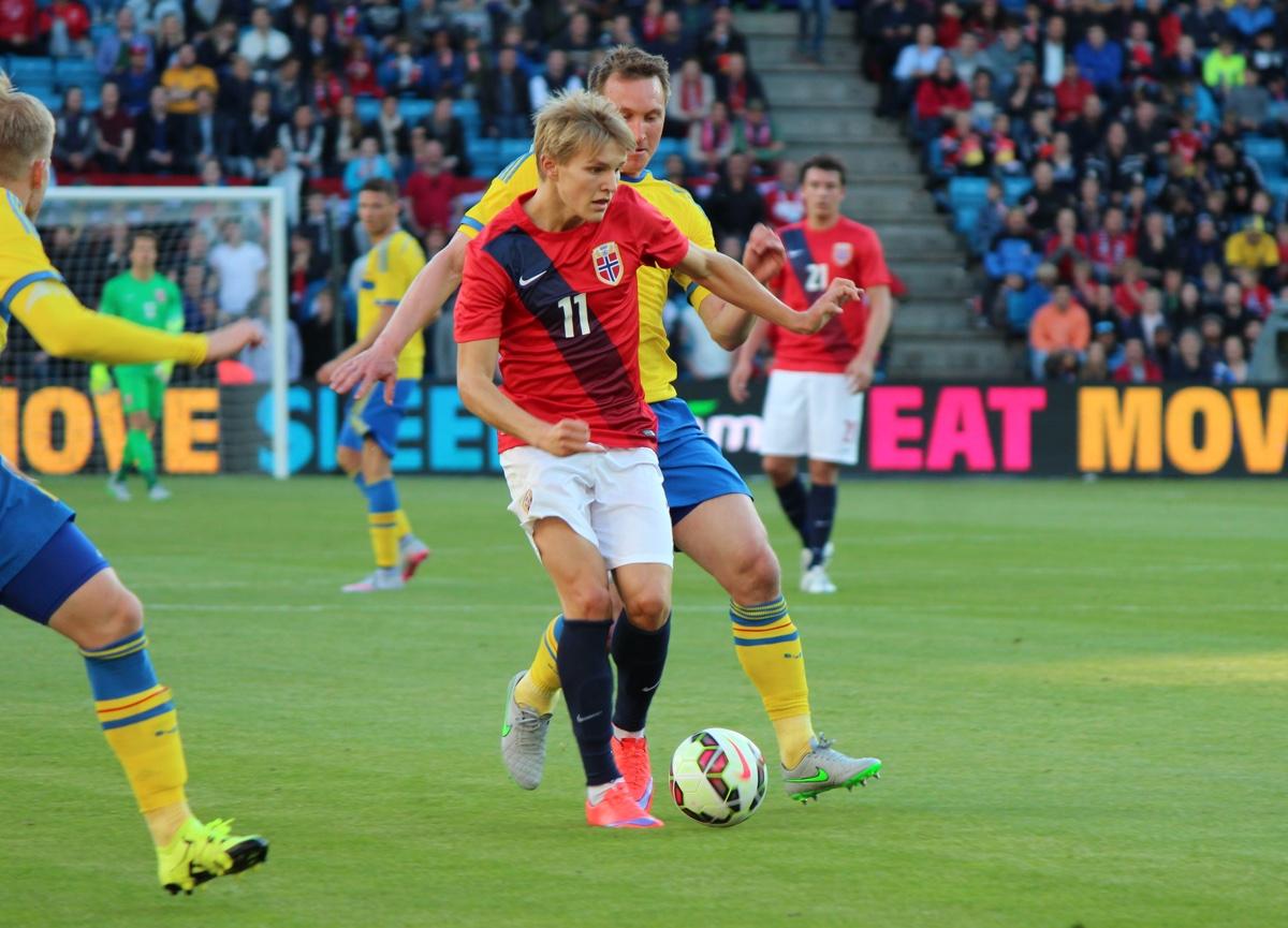 Norwegian footballer Martin Ødegaard