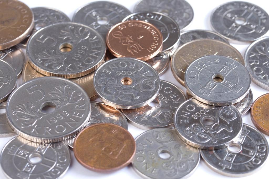 Norwegian kroner coins