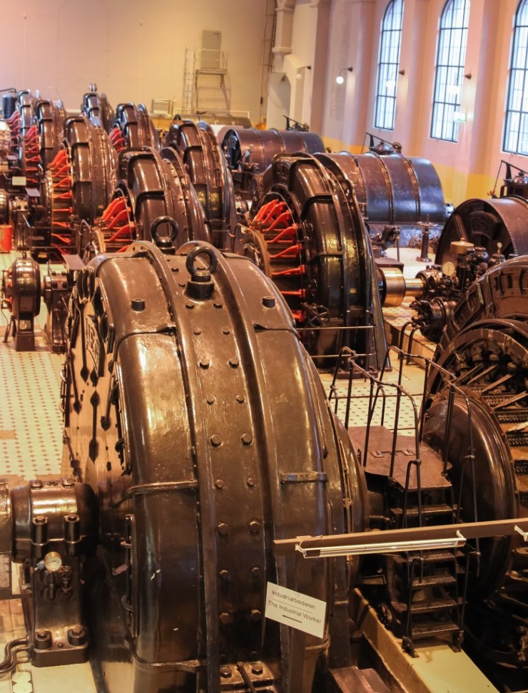 The Vemork plant is now the Norwegian Industrial Workers Museum