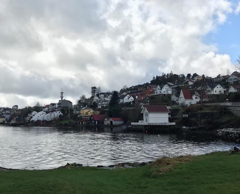 Leirvik coastline