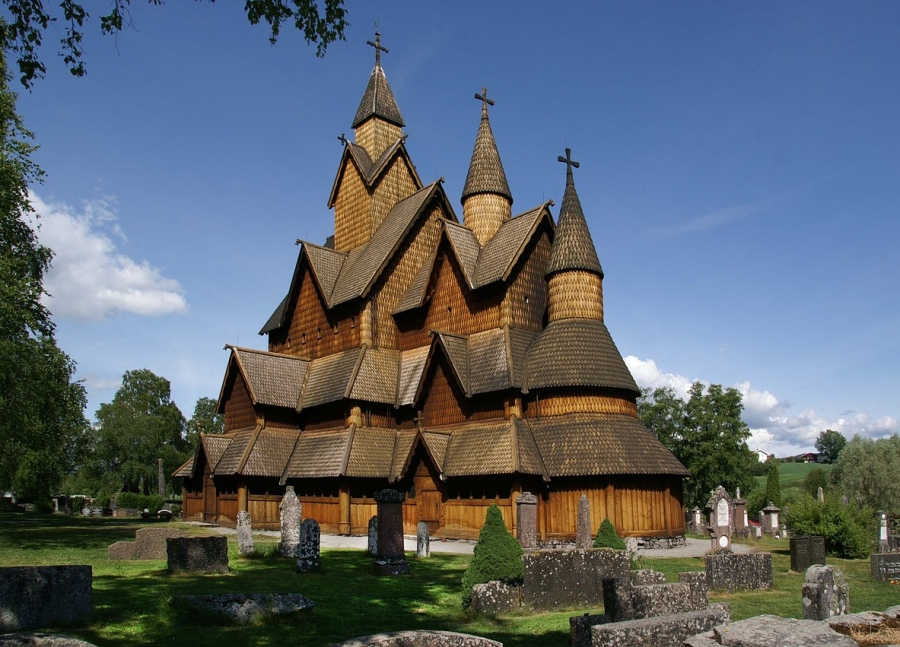 Norway's largest stave church is Heddal in Notodden, Telemark.
