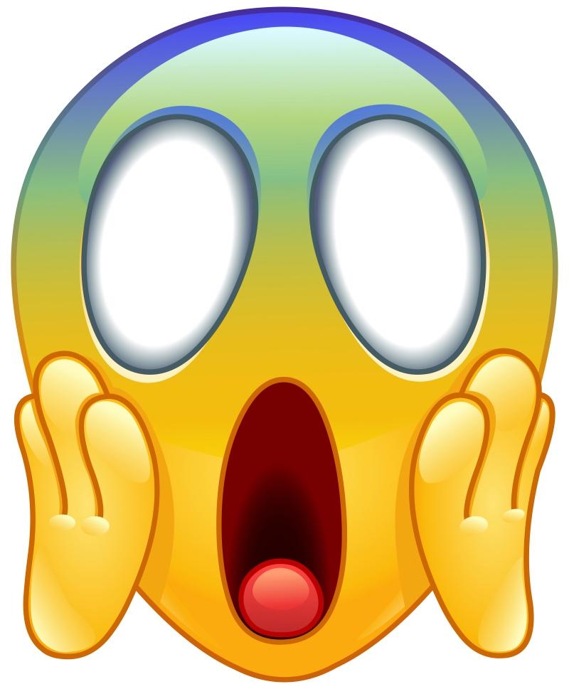 The Scream emoji parody