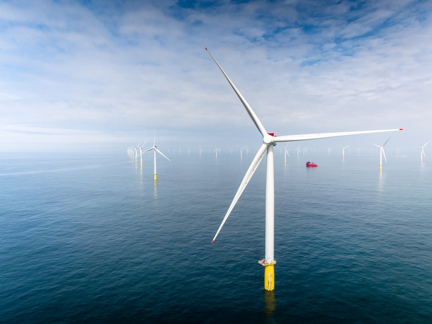 Dudgeon offshore wind from Equinor