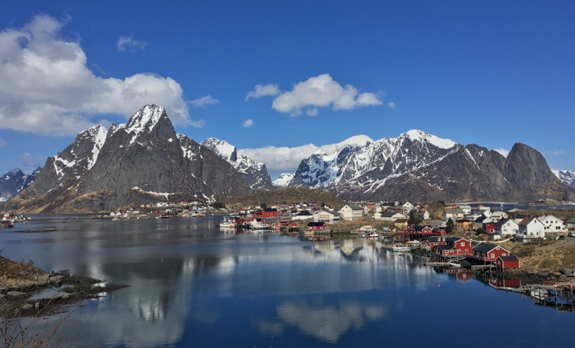 The viewpoint at Reine, Lofoten