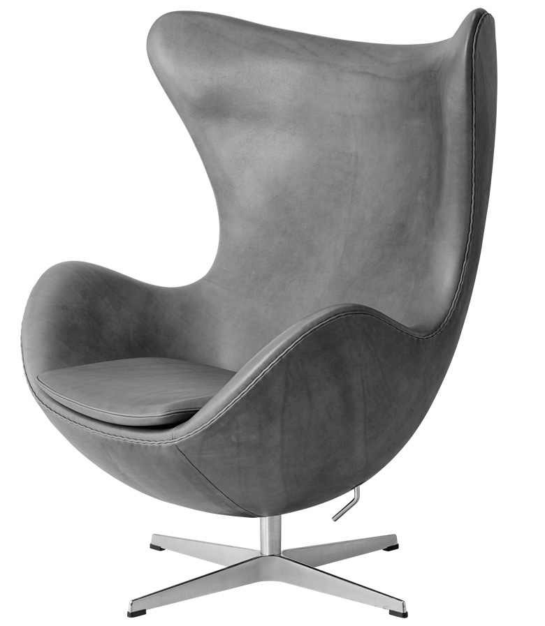 Jacobsen's Egg Chair is an iconic piece of Scandinavian furniture design known throughout the world.