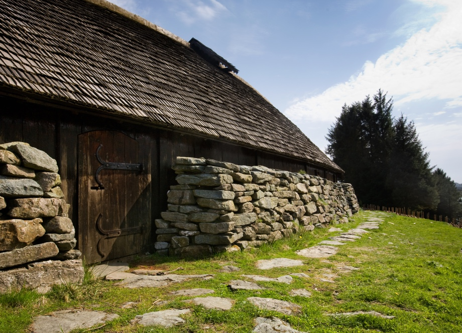 An example Viking longhouse