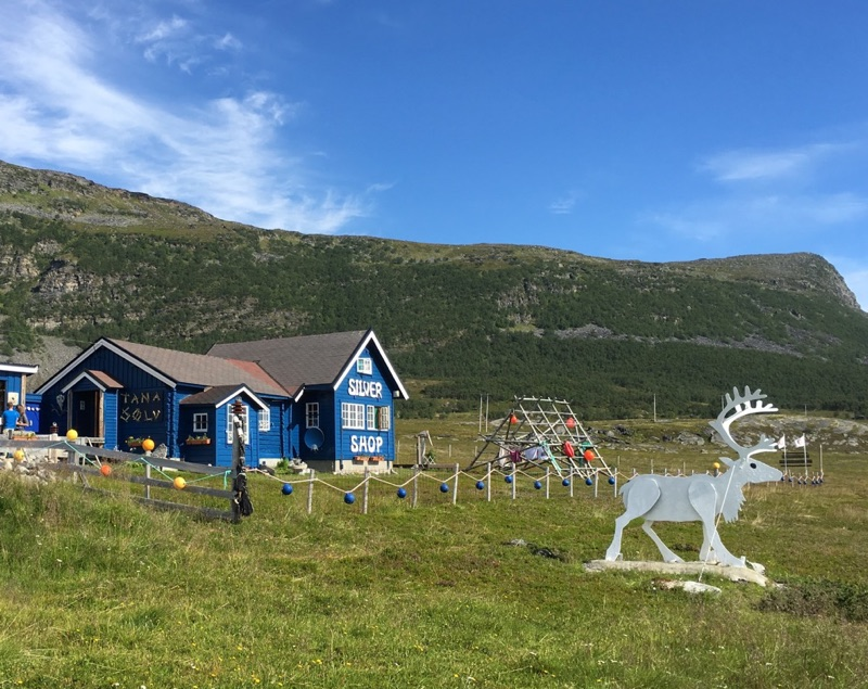 Silver shop in Arctic Norway