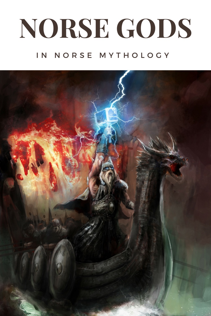 Norse Gods: Everything you ever wanted to know about the gods and goddesses of Norse mythology.