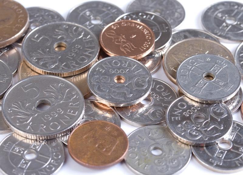 Norwegian krone coins