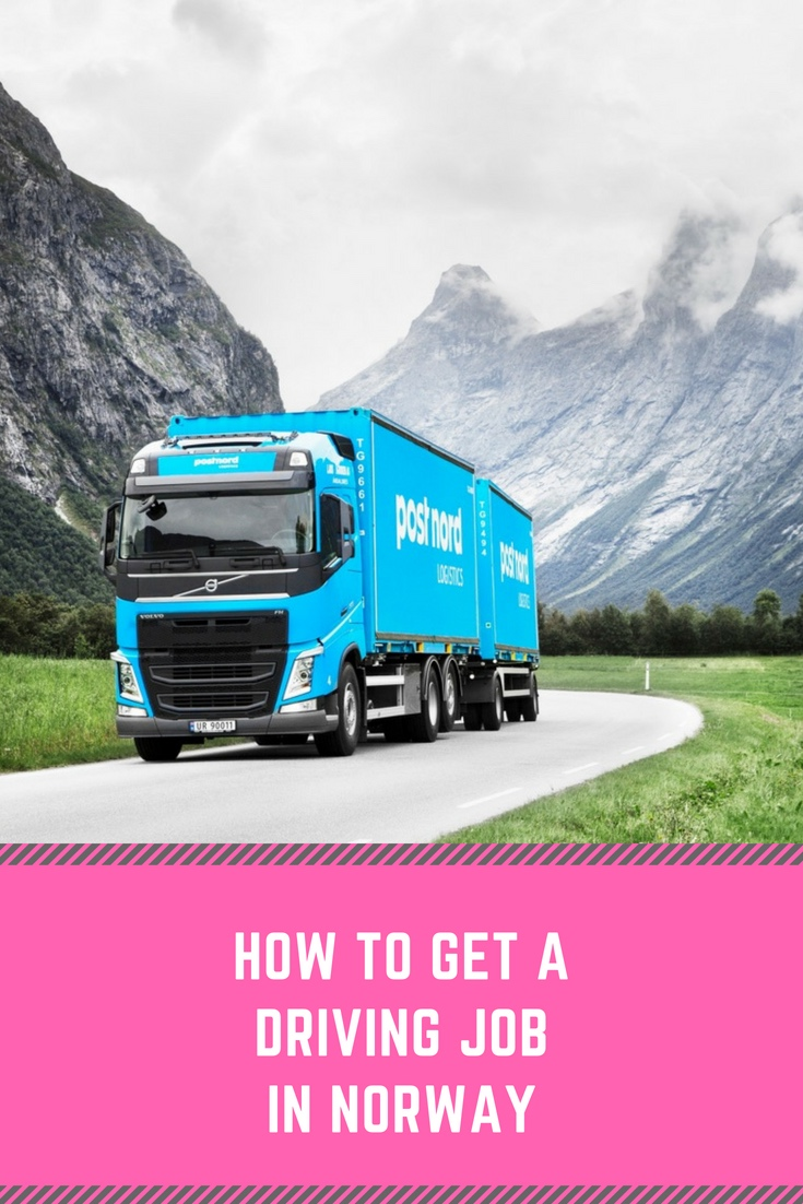 How to get a driving job in Norway