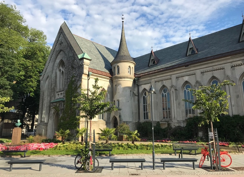 Kristiansand Cathedral on the town square