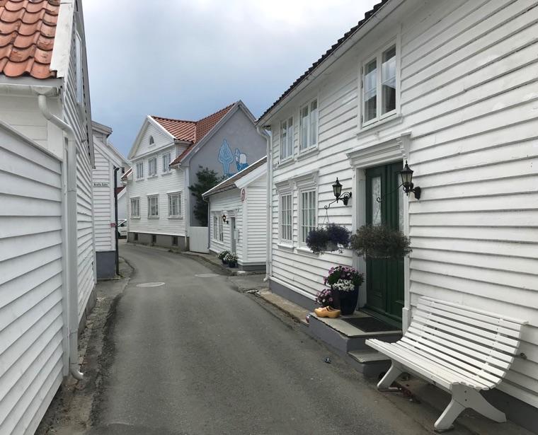 Houses on Nesgaten