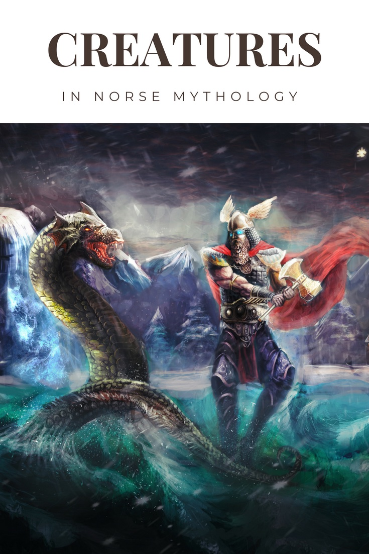 Creatures in Norse Mythology: From Odin's ravens to elves and trolls, Norse mythology is full of fantastical creatures that we know and love.