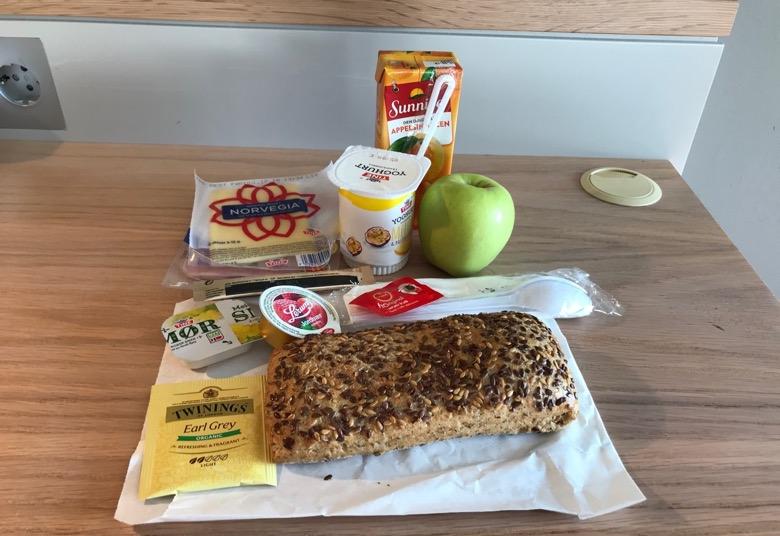 Breakfast bag in Fast Hotel Svolvær