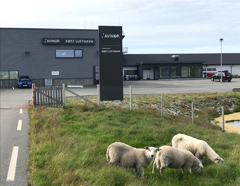 The remote airport on Røst
