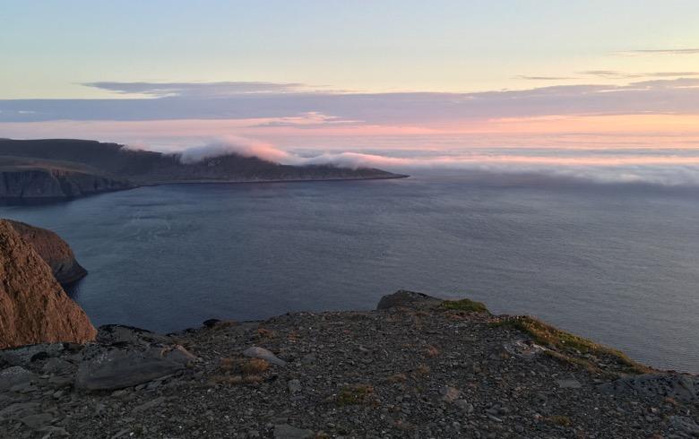 Knivskjellodden in Northern Norway