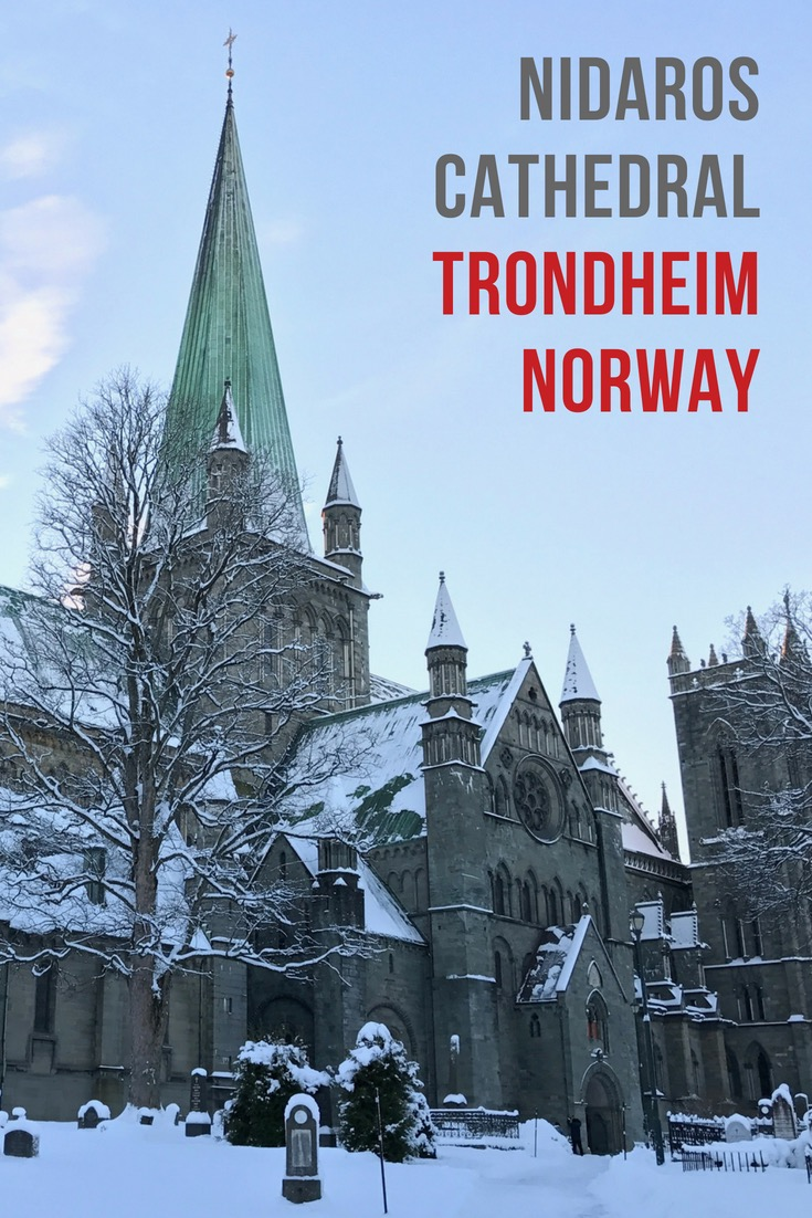 Nidaros Cathedral in Trondheim, Norway, is the site of Norwegian coronations to this day, and the number one tourist attraction in central Norway.