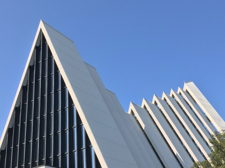 The modern looking architecture of Tromsø's Arctic Cathedral actually dates back to the 1960s.