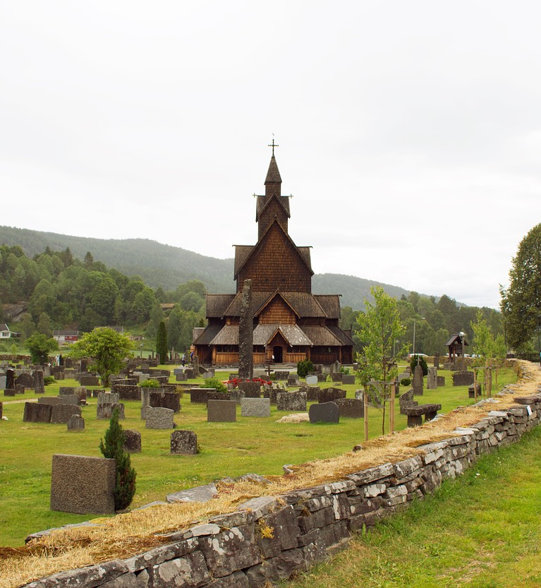 Heddal Stave Church in Telemark is Norway's biggest