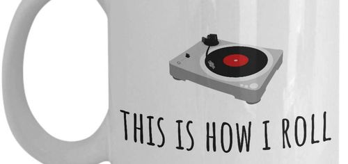 Tea or coffee? Whatever you sip while spinning your records we've got you covered
