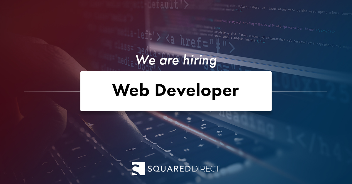 Web Developer - SquaredDirect
