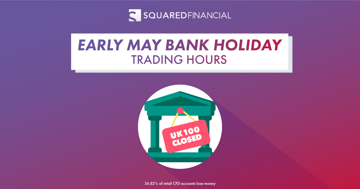Early May Bank Holiday - Trading Hours