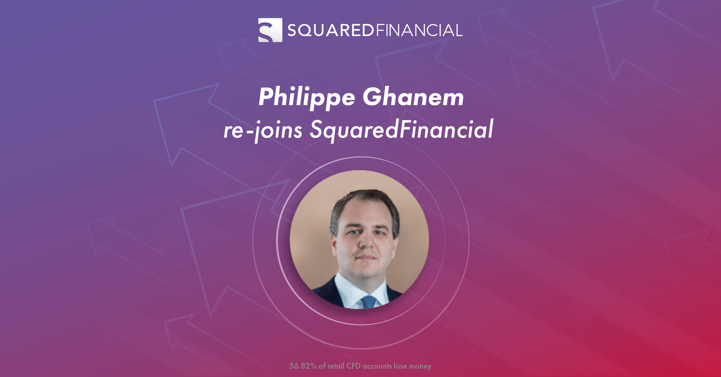 Philippe Ghanem re-joins SquaredFinancial to create a new generation one-stop solution for traders and investors