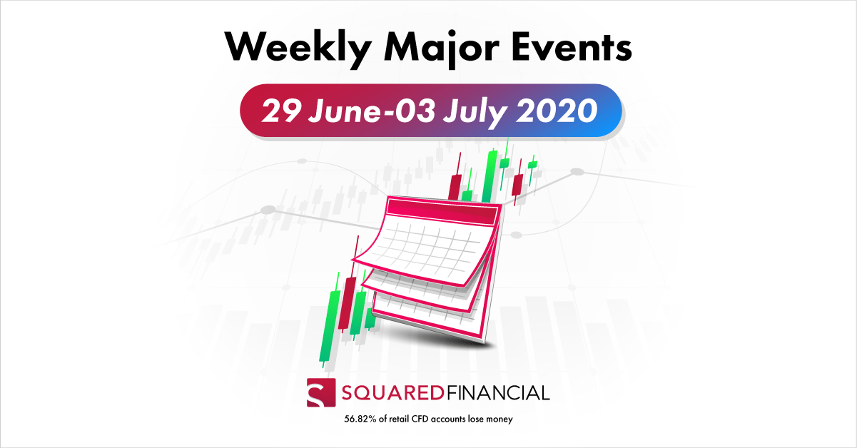 Weekly Major Economic Events: 29 June – 03 July 2020