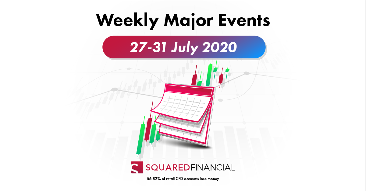 Weekly Major Economic Events: 27 – 31 July 2020