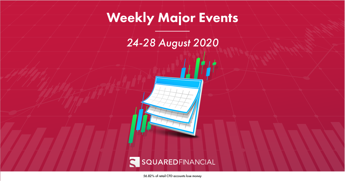 Weekly Major Economic Events: 24 – 28 August 2020