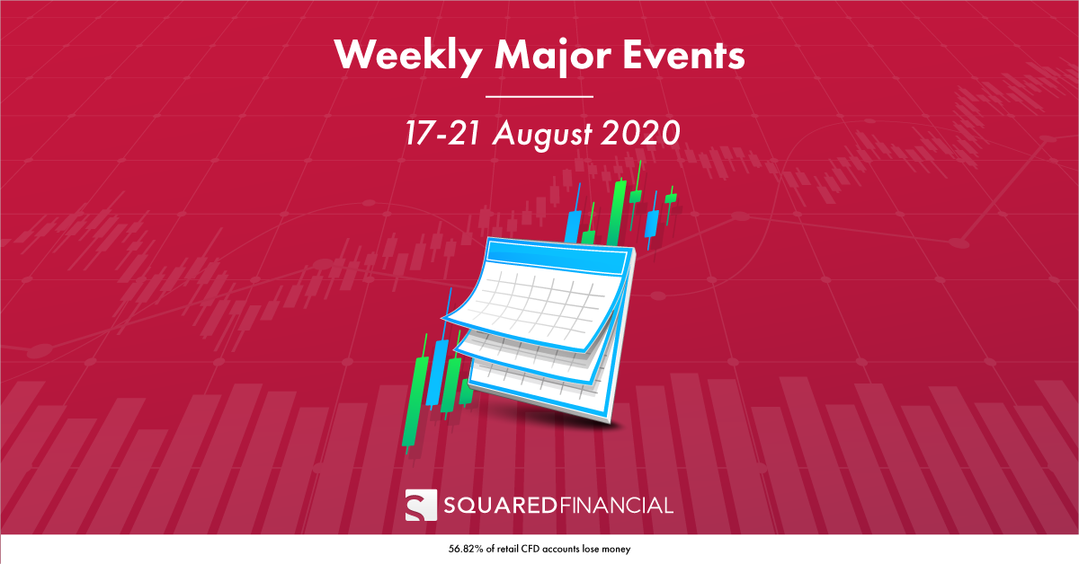 Weekly Major Economic Events: 17 – 21 August 2020