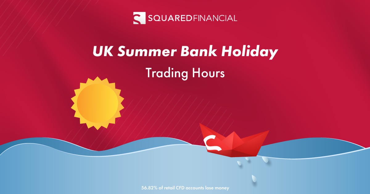 UK Summer Bank Holiday - Trading Hours