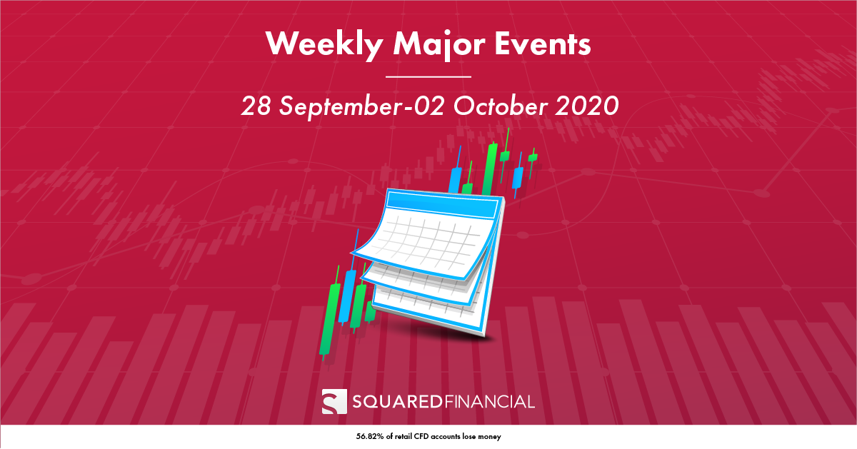 Weekly Major Economic Events: 28 Sept – 02 Oct 2020