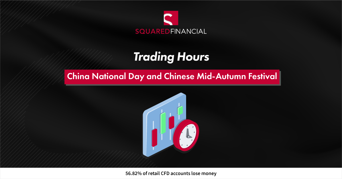 China National Day and Chinese Mid-Autumn Festival - Trading Hours