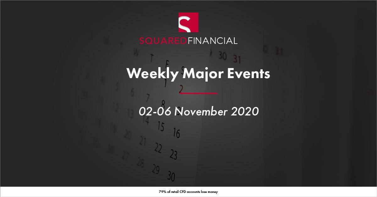 Weekly Major Economic Events: 02-06 November 2020