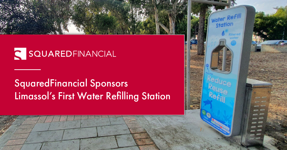 SquaredFinancial Sponsors Limassol's First Water Refilling Station