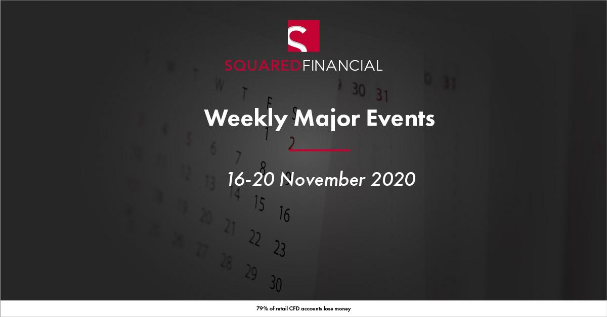 Weekly Major Economic Events: 16-20 November 2020
