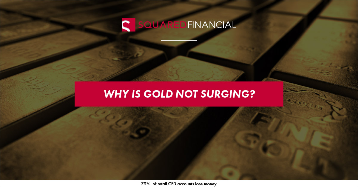 Why is Gold not Surging?