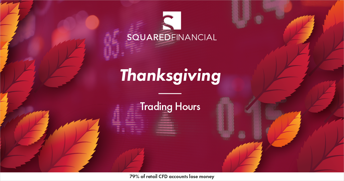 Thanksgiving Holiday - Trading Hours