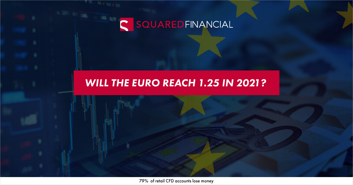 Will the Euro reach 1.25 in 2021?